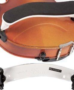 Everest White ES Series 3/4-1/2 Violin Adjustable Shoulder Rest
